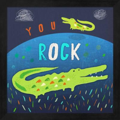 You Rock Framed Wall Art