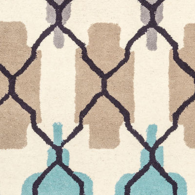 Rizzy Home Bradberry Downs Collection Hand-Tufted Amelia Geometric Area Rug