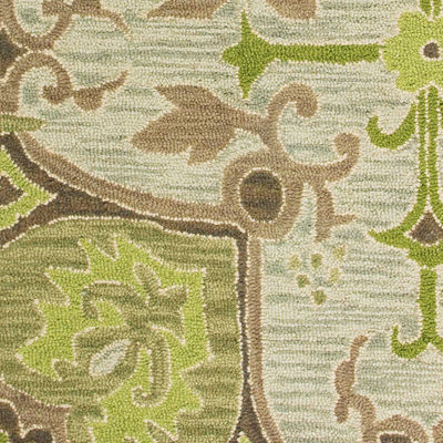 Rizzy Home Country Collection Hand-Tufted Karina Medallion Area Rug