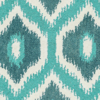 Rizzy Home Rockport Collection Hand-Tufted Lillian Geometric Area Rug