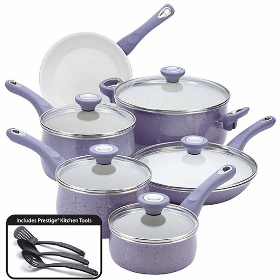 Farberware 14-pc. Aluminum Non-Stick Cookware Set
