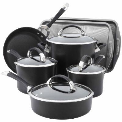 Circulon 11-pc. Aluminum Hard Anodized Cookware Set