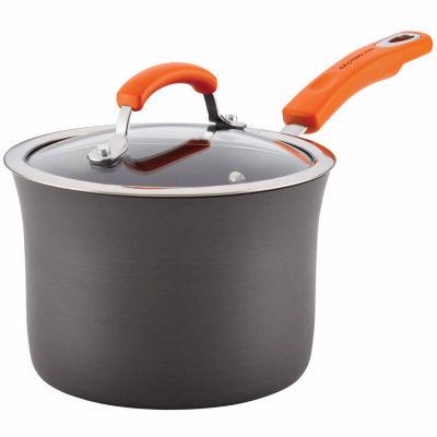 Rachael Ray Aluminum Hard Anodized Sauce Pan
