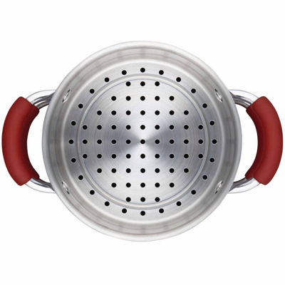 Rachael Ray 3-pc. Aluminum Non-Stick Steamer Insert
