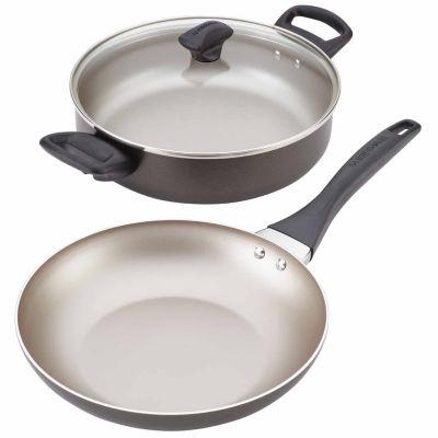 Farberware 3-pc. Aluminum Non-Stick Cookware Set