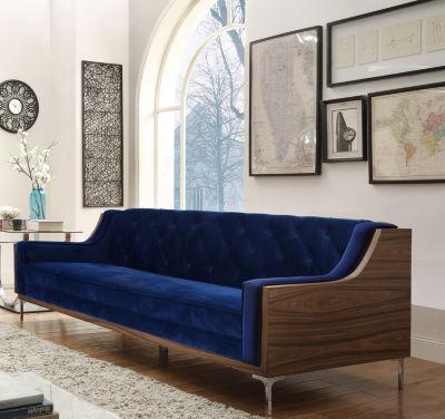 Chic Home Clark Velvet Sofa