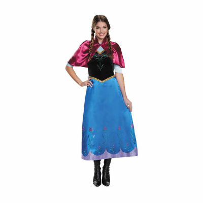 Frozen: Anna Deluxe Traveling Gown Adult Costume