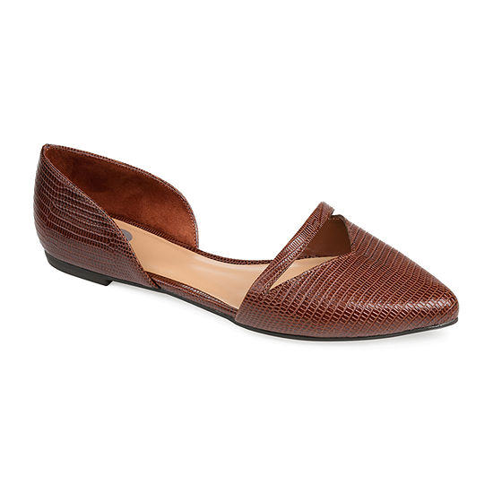 Journee Collection Womens Braely Ballet Flats