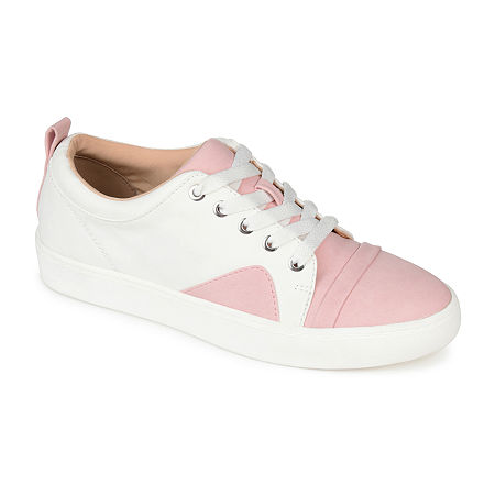 Vintage Sneakers, Retro Designs for Women Journee Collection Womens Jc Kyndra Slip-On Shoe 6 12 Medium Pink $59.49 AT vintagedancer.com