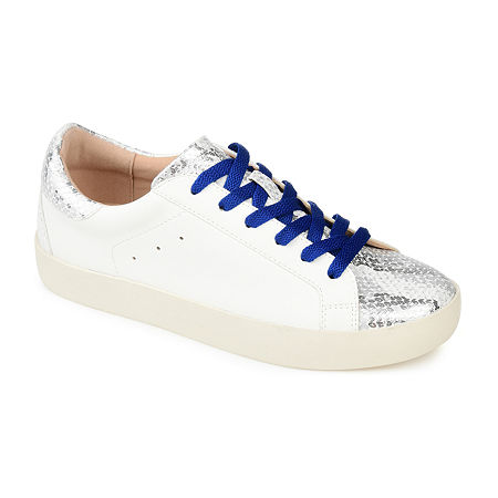 Journee Collection Womens Erica Slip-On Sneakers, 9 1/2 Wide, Multiple Colors