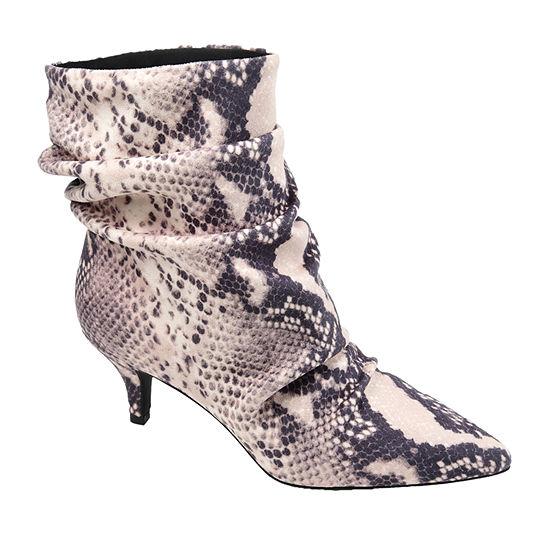 Journee Collection Womens Jo Kitten Heel Booties