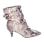 Journee Collection Womens Jo Kitten Heel Booties