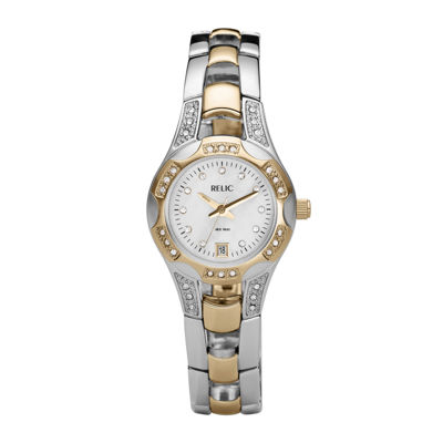 Charming Relic® Womens Mother Of Pearl Watch ZR11761