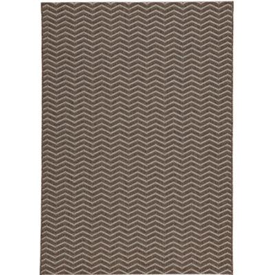 Stetson Chevron Sisal-Look Indoor/Outdoor Rectangular Rug