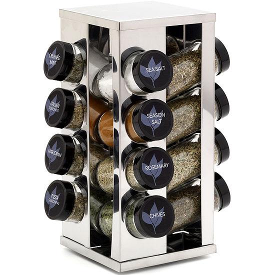 Kamenstein 16-Jar Revolving Spice Rack