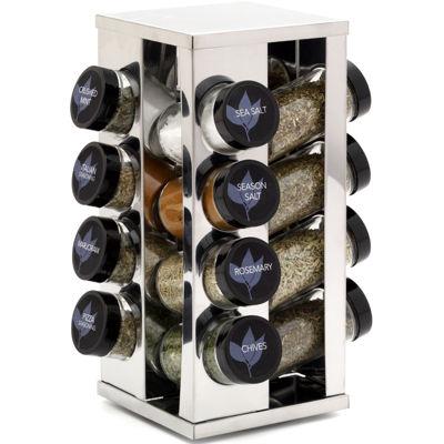 Kamenstein 16 Jar Revolving Spice Rack