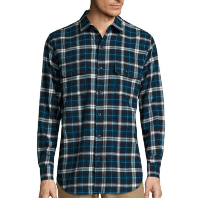 Big Mac Flannel Plaid Shirt