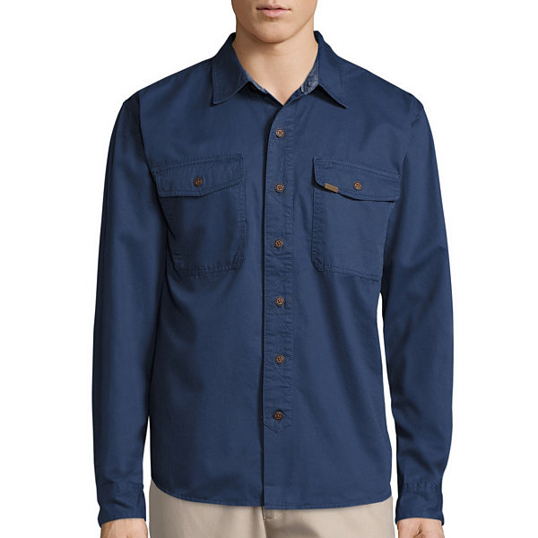 Smith's Workwear Long-Sleeve Twill Work Shirt