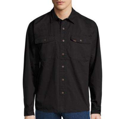 Smith's Workwear Long-Sleeve Twill Work Shirt