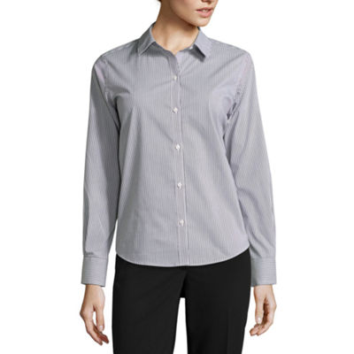 Liz Claiborne® Long-Sleeve Wrinkle-Free Shirt