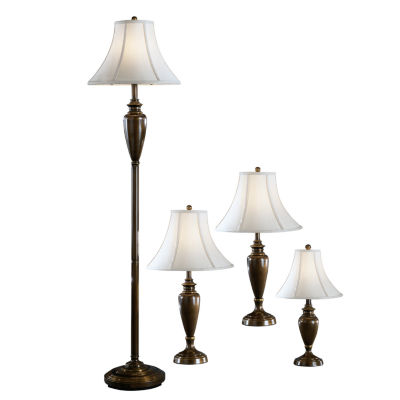 Signature Design by Ashley Caron 4pc Metal Lamp