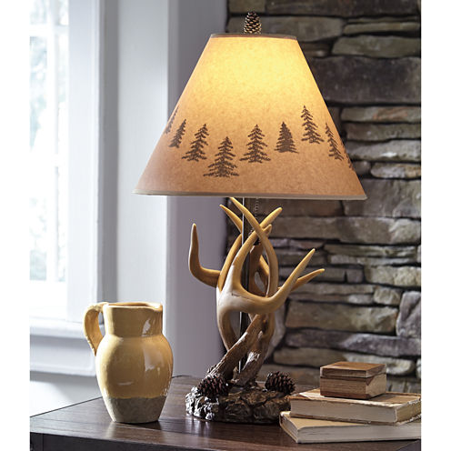 Signature Design by Ashley 2-pc. Faux Wood Table Lamp