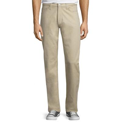 Arizona Flex Slim Straight Bull-Denim Jeans