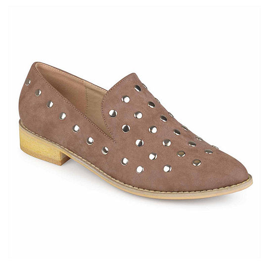 Journee Collection Womens Breeze Slip-On Shoe Pointed Toe