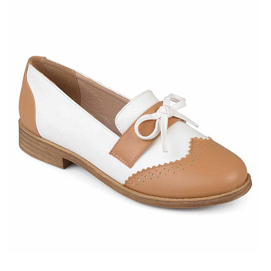 Journee Collection Womens Gloria Loafers Round Toe