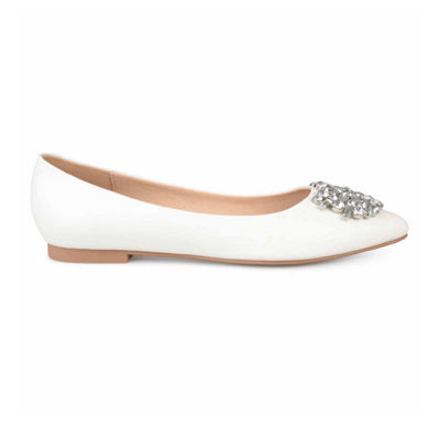 Journee Collection Renzo Womens Ballet Flats Slip-on Pointed Toe