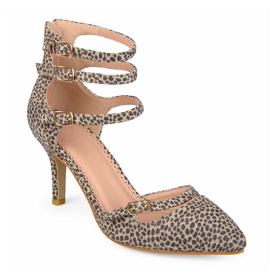Journee Collection Womens Mariah Pumps Pointed Toe Stiletto Heel