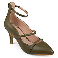 8a1074c0a5c Journee Collection Womens Cece Pumps Zip Pointed Toe Stiletto Heel. Add To  Cart