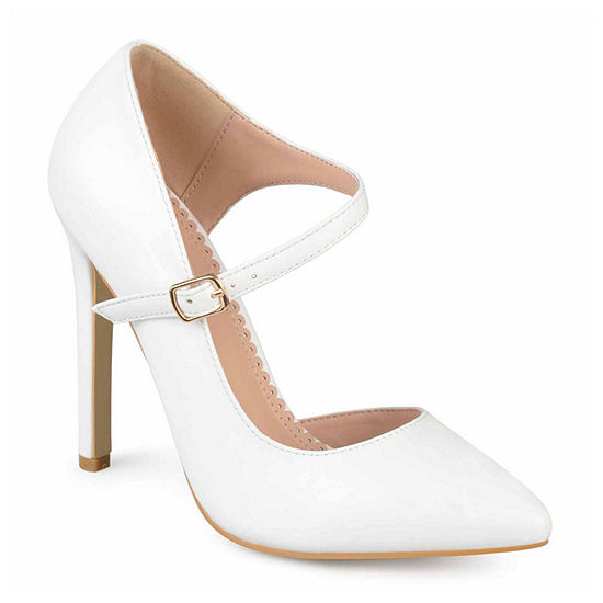 Journee Collection Womens Athea Pumps Pointed Toe Stiletto Heel