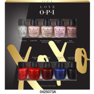 OPI Love Xoxo Mini 10-pc. Nail Polish