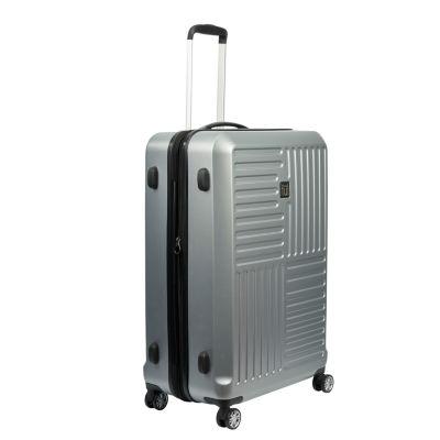 Ful Urban Grid 25 Inch Hardside Luggage Silver