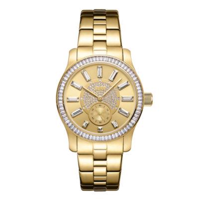 JBW Diamond Womens Gold Tone Bracelet Watch-J6349c