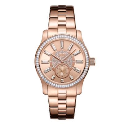 JBW Diamond Womens Rose Goldtone Bracelet Watch-J6349d