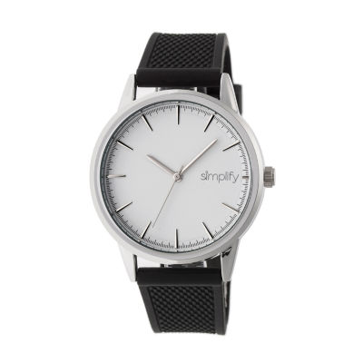 Simplify Mens Black Strap Watch-Sim5201