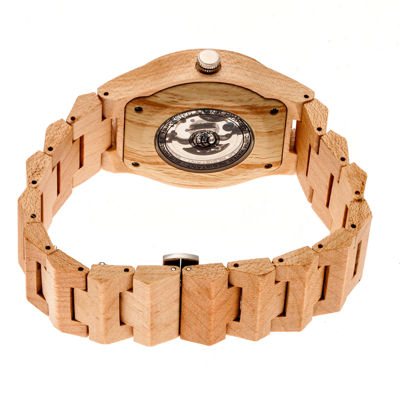 Earth Wood Gobi Unisex Brown Bracelet Watch-Ethew4301