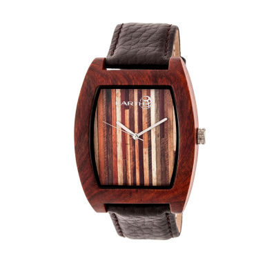 Earth Wood Cedar Unisex Red Bracelet Watch-Ethew4603