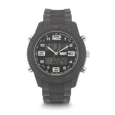 Wrist Armor U.S. Navy C27 Mens Gray Strap Watch-37400002