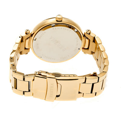 Bertha Womens Gold Tone Bracelet Watch-Bthbr6602