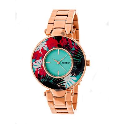 Bertha Womens Two Tone Bracelet Watch-Bthbr6603