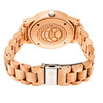 Earth Wood Tuckahoe Unisex Adult Automatic Brown Bracelet Watch-Ethew4801