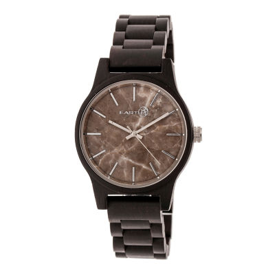 Earth Wood Tuckahoe Unisex Brown Bracelet Watch-Ethew4802