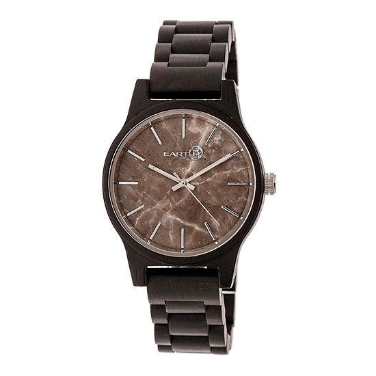 Earth Wood Tuckahoe Unisex Adult Automatic Brown Bracelet Watch-Ethew4802