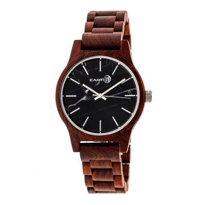 Earth Wood Tuckahoe Unisex Red Bracelet Watch-Ethew4803