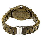 Earth Wood Tuckahoe Unisex Automatic Green Bracelet Watch-Ethew4804