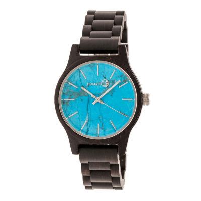 Earth Wood Tuckahoe Unisex Black Bracelet Watch-Ethew4805