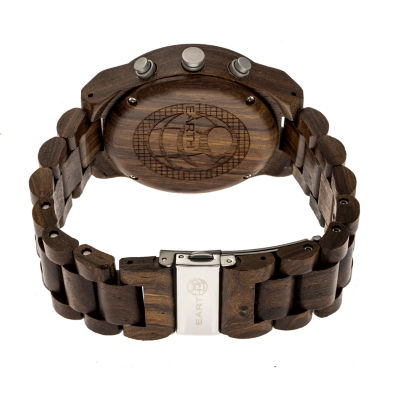 Earth Wood Castillo Unisex Brown Bracelet Watch-Ethew5102